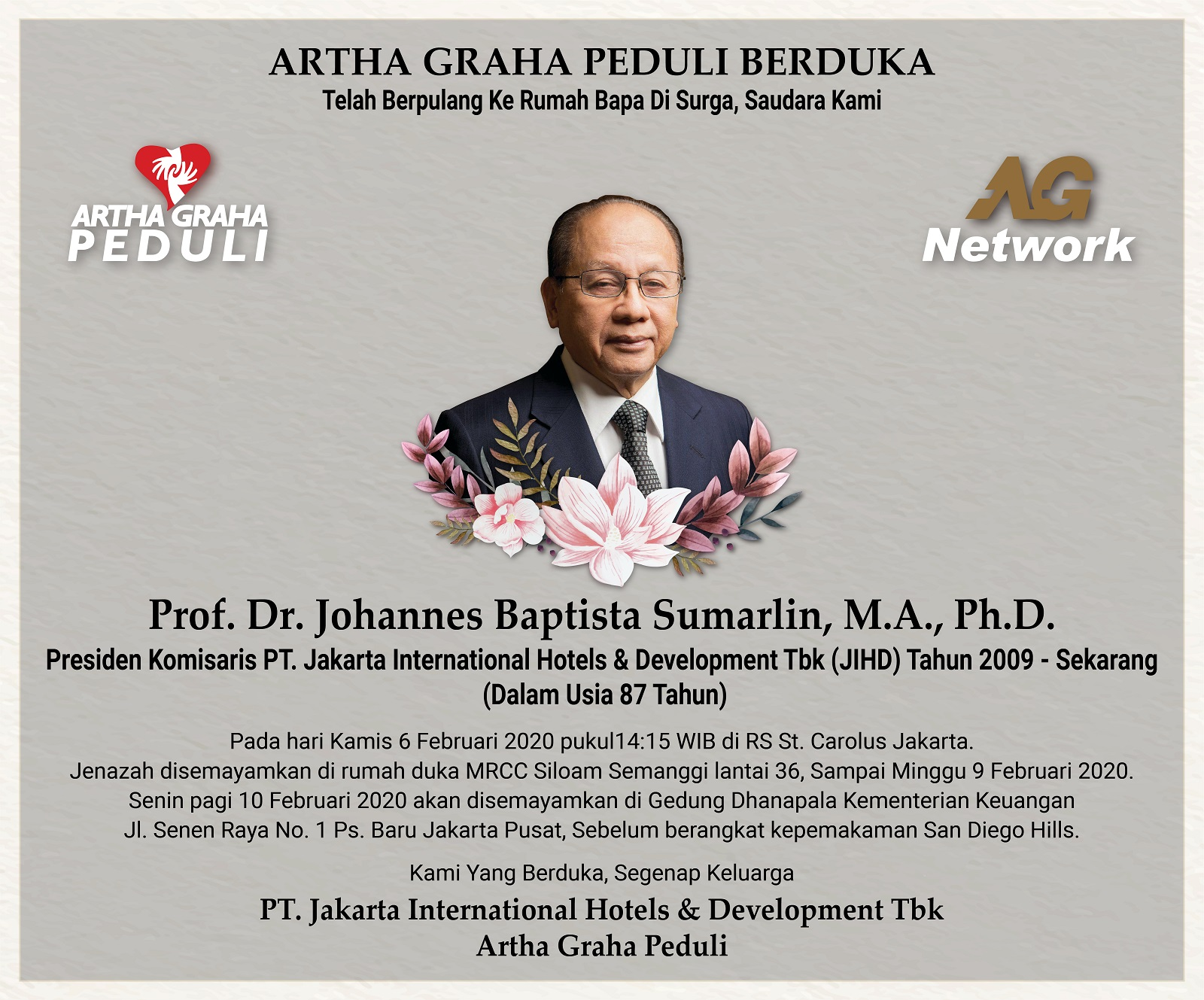 Dr JB Sumarlin